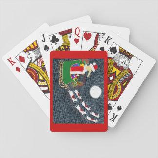 Santa Dachshund Playing Cards