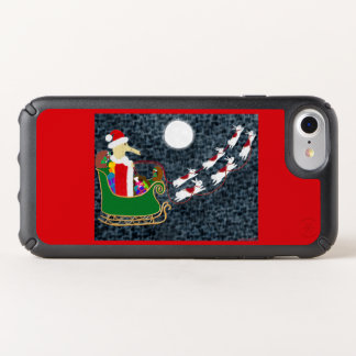 Santa Dachshund Speck iPhone Case