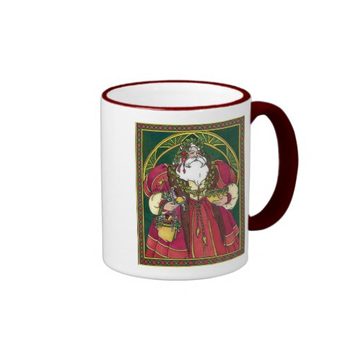 Santa de antaño taza
