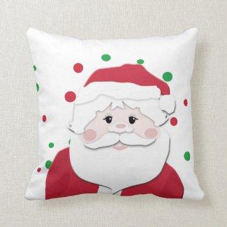Santa Decorative Christmas Pillow