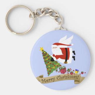 Santa Delivers | Christmas Keychain