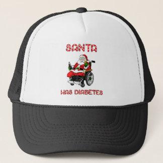 Santa Diabetes Trucker Hat