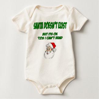 Santa Doesn't Exist Baby Creeper