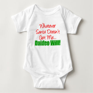 Santa Doesn't Get Me Daideo Will Tees