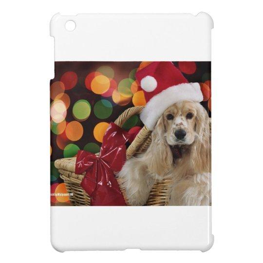 Santa Dog iPad Mini Covers