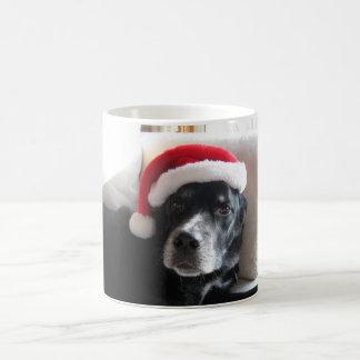 Santa Dog-Labrador Rottweiler Mix Coffee Mug