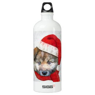 santa dog SIGG traveler 1.0L water bottle