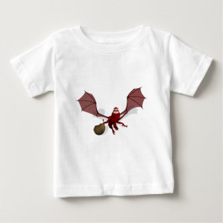 Santa Dragon Baby T-Shirt