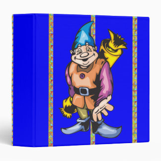 Santa Elves and Christmas Candy 3 Ring Binders