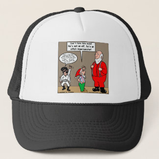 Santa & Elves Impersonator Funny Gifts & Tees Trucker Hat