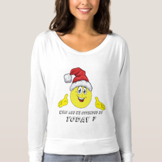Santa Emoji What are we offended by Today T-shirt