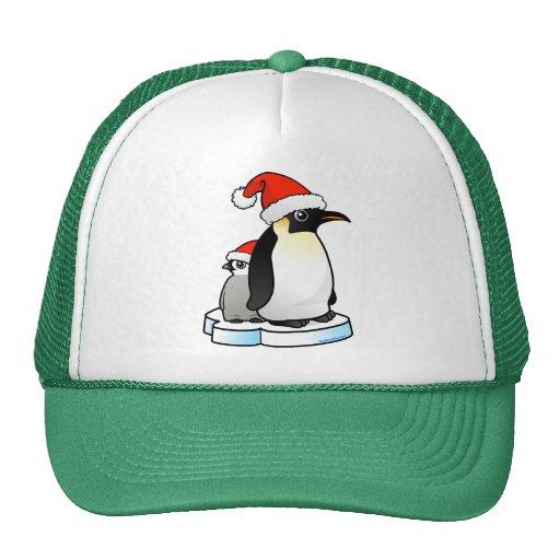 Santa Emperor Penguin Hats