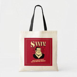 Santa: Empty Sack On Christmas Morning Bag