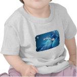 Santa en BlueWave Camiseta