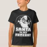 Santa es mi Homeboy Playeras