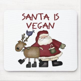 Santa es vegano tapetes de ratones