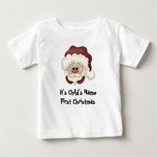 Santa Face 1st Christmas T-shirt