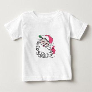 Santa Face Baby T-Shirt