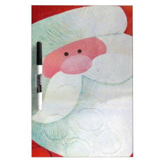 Santa Face Dry-Erase Board