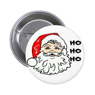 Santa face, HOHOHO Button