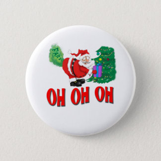 santa farted button