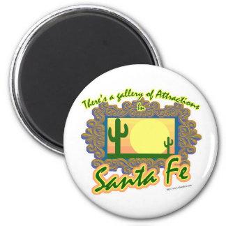 Santa Fe 2 Inch Round Magnet