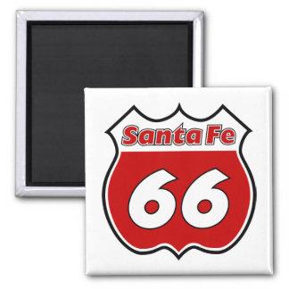 Santa Fe 66 Imán Cuadrado