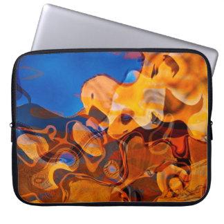 Santa Fe Afternoon Rhythm Abstract Art Laptop Sleeve