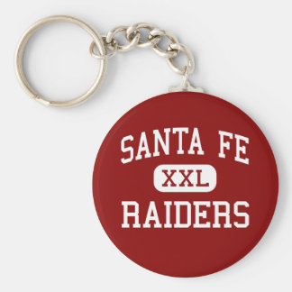 Santa Fe - asaltantes entrenados para la lucha cue Llavero Redondo Tipo Pin