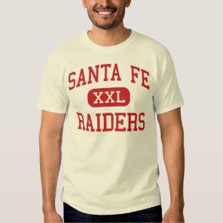 Santa Fe - asaltantes entrenados para la lucha Playera