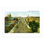 Santa Fe Avenue, Salina, Kansas Post Card