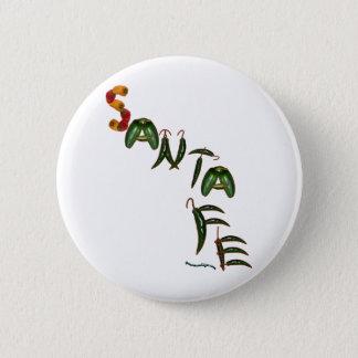 Santa Fe Chili Peppers Button