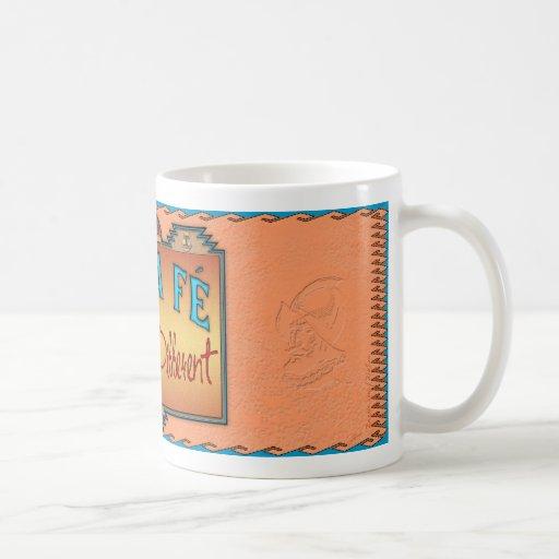 Santa Fe Classic White Coffee Mug