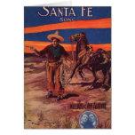 Santa Fe Cowboy Card