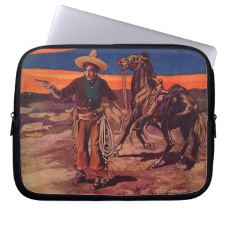 Santa Fe Cowboy Laptop Sleeve