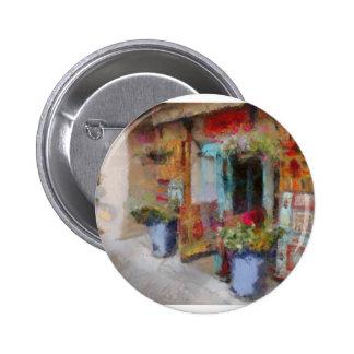 Santa Fe doorway. Button