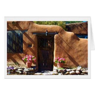 Santa Fe Doorway Card