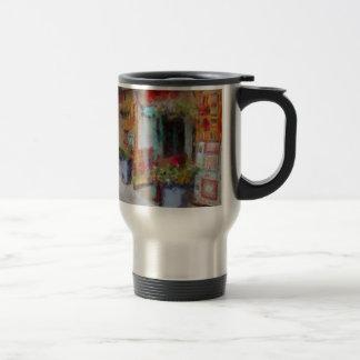 Santa Fe doorway. Travel Mug