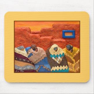 Santa Fe Dreaming - Mousepad mousepad