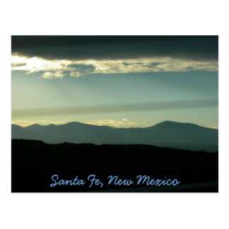 Santa Fe Mountains Postcard