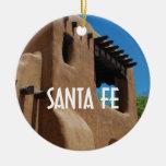 Santa Fe New Mexico Ceramic Ornament