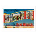 Santa Fe, New México - escenas grandes 2 de la let Postal