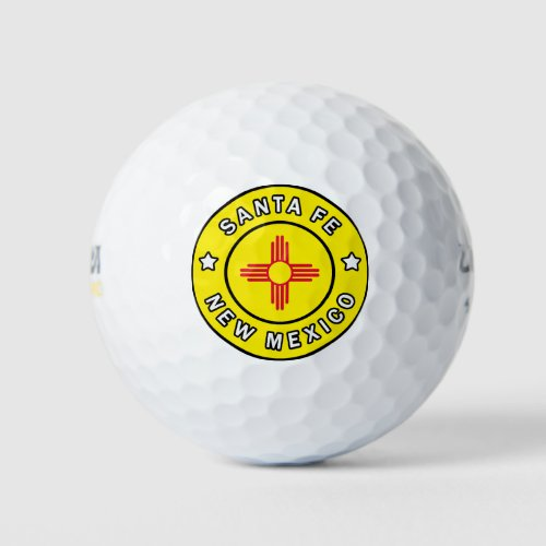 Santa Fe New Mexico Golf Balls