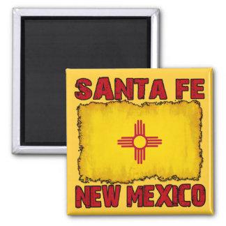 Santa Fe, New México Iman Para Frigorífico