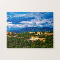 Santa Fe New Mexico. Jigsaw Puzzle