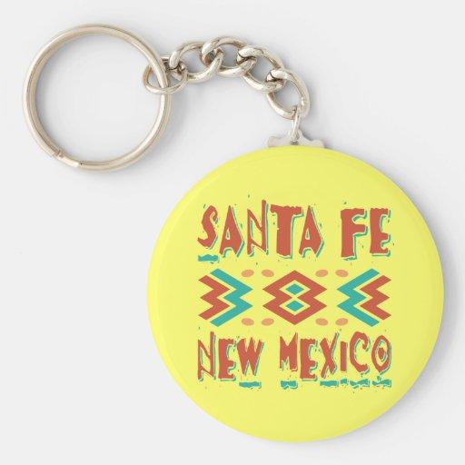 SANTA FE, NEW MEXICO KEYCHAIN