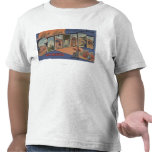 Santa Fe, New Mexico - Large Letter Scenes Tshirts