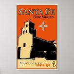 Santa Fe, New México, los E.E.U.U. Poster