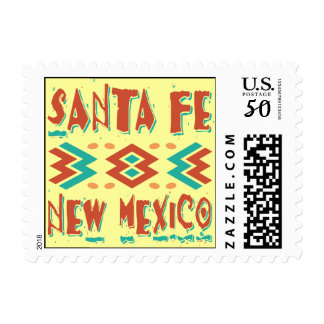SANTA FE NEW MEXICO POSTAGE STAMPS