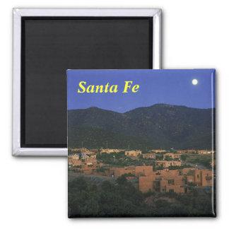 Santa Fe New Mexico, Santa Fe 2 Inch Square Magnet